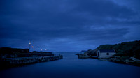 Ballintoy Harbour at Night